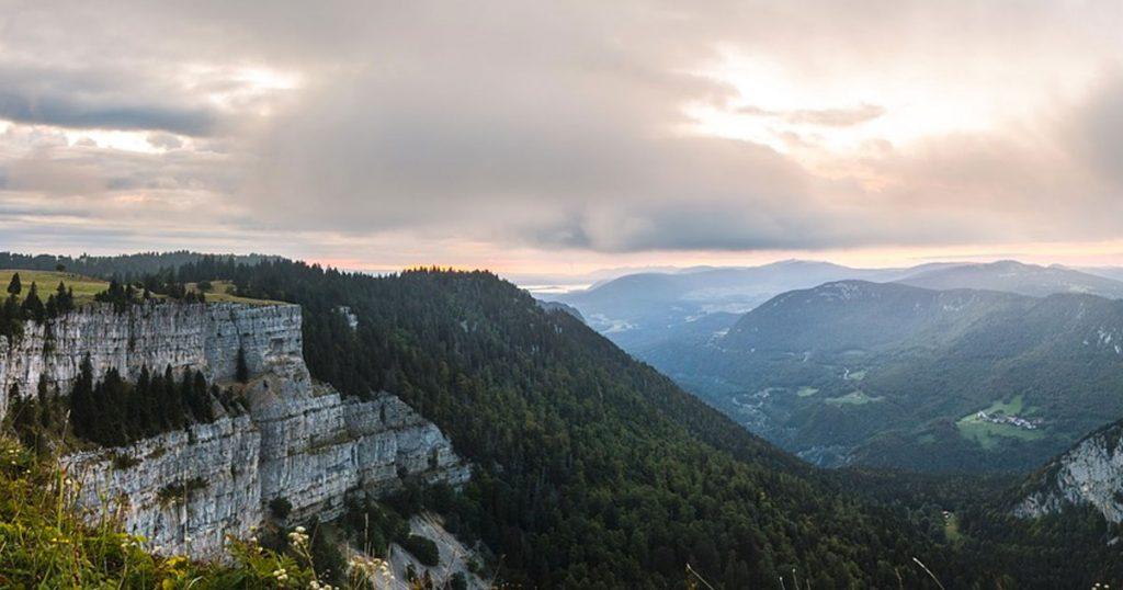 GTJ : GR5 dans le Jura